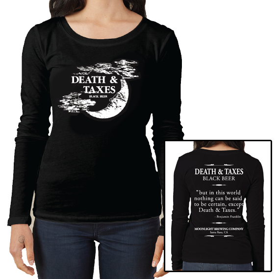 Women's Death & Taxes Long Sleeve T-Shirt