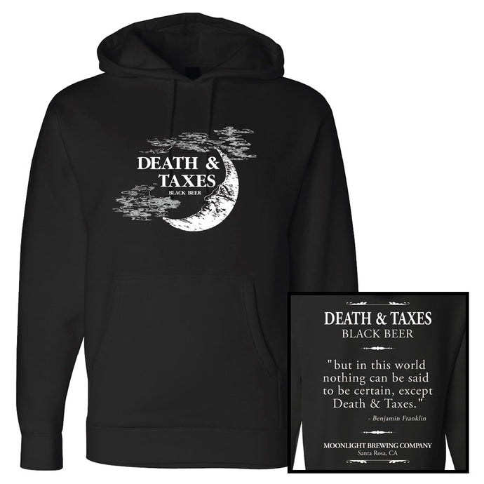 Unisex Iconic Death&Taxes Pullover Hoodie