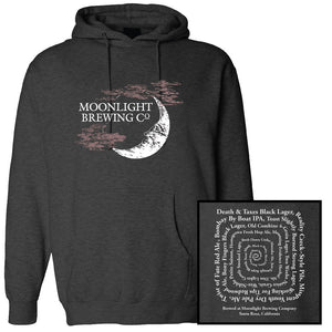 Unisex Moonlight Brewing Beers Pullover Hoodie