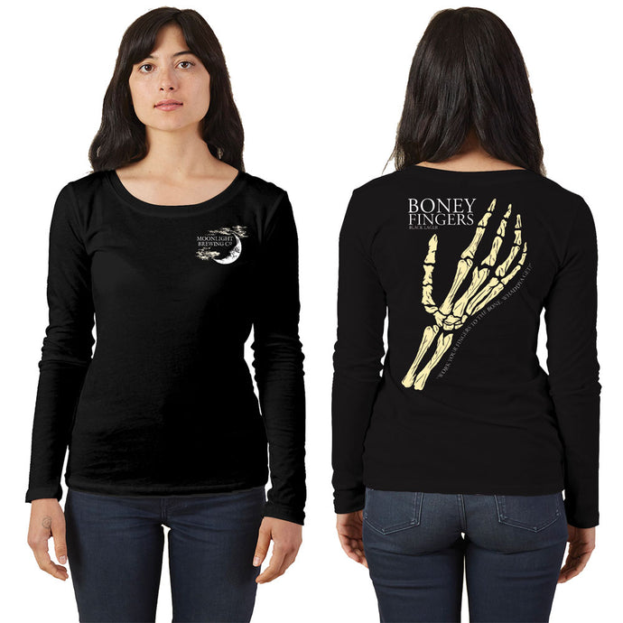 LIMITED EDITION: Women's Boney Fingers Long Sleeve T-Shirt