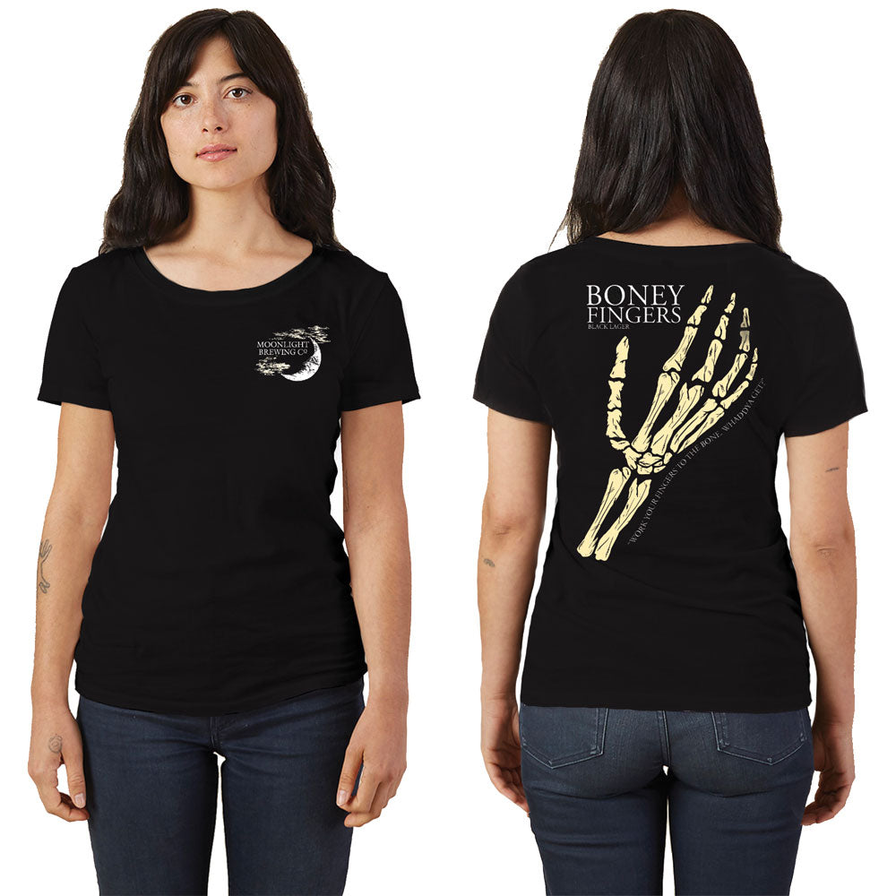LIMITED EDITION: Women's Boney Fingers Short Sleeve T-Shirt