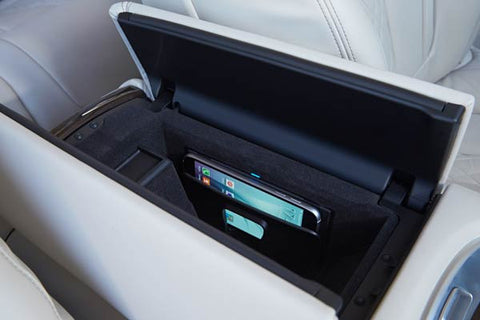 2018 bmw wireless charging. simple charging the wireless charging pocket inside the center console intended 2018 bmw b
