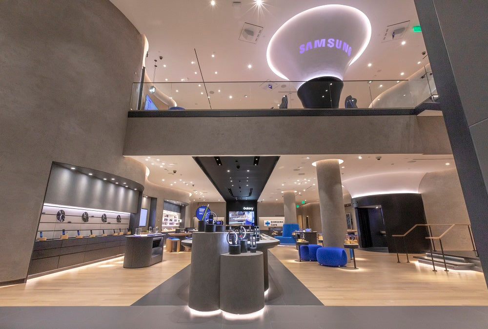 Samsung new retail store Los Angeles
