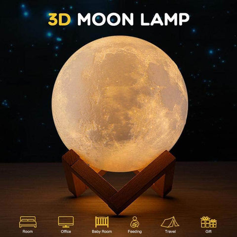 Moon Light Lamp 18 cm