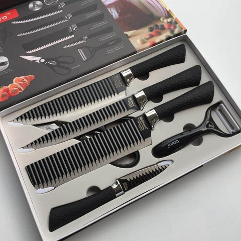Ghero Non-Stick Knife Set of 6