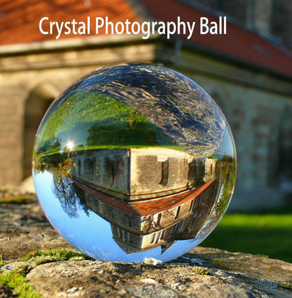 Refractique Lensball 80mm Vivid | K9 2nd Generation Crystal Ball Photography | Photography Accessories | Perfect For Smartphone Photography, DSLR, and more!