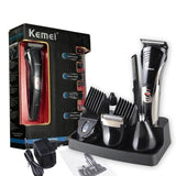 Kemei Professional 7 in 1 Multi-function Hair Shaver+Trimmer+Clipper+NoseTrimmer For Men KM-590A