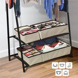 Foldable Organizer For Underwear Socks Bra Drawer Organizers Closet Underwear Organizer Drawer Divider Storage Box