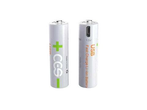 Micro USB Rechargeable Batteries Li-polymer 1.5V  x 2