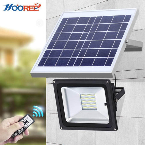 Solar Flood Light with remote control 10W/25W/40W/60W