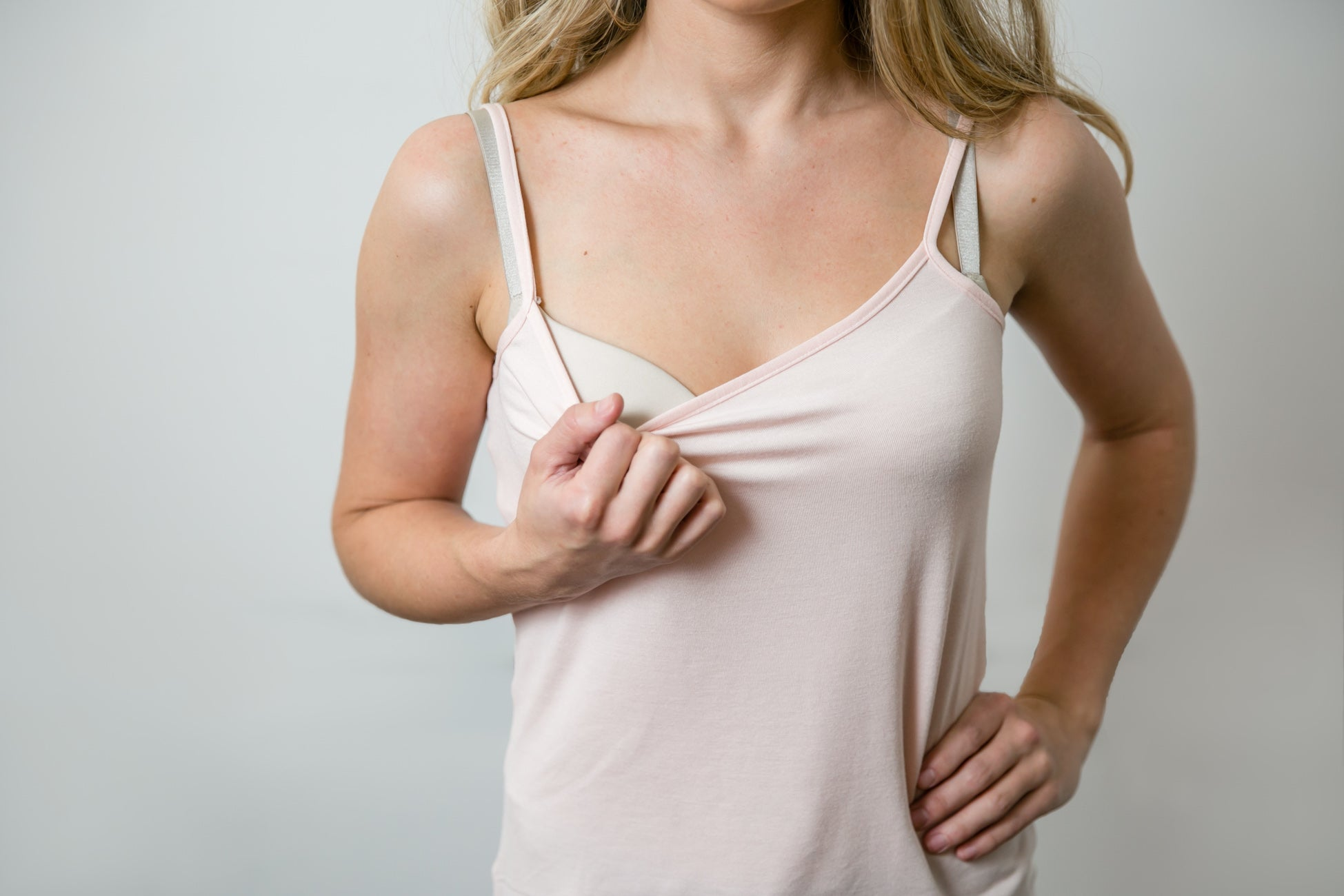 Nursing Camisole - Blush