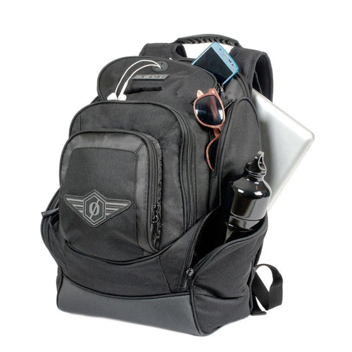 pack with separate compartments