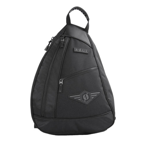 Black Sling Pack, one strap backpack
