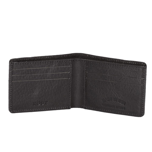 six pocket leather wallet
