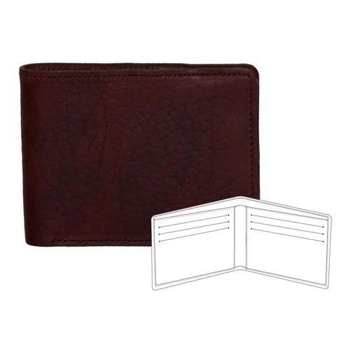 Billfold wallet with credit card slots