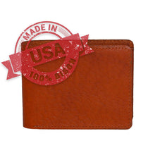 Load image into Gallery viewer, Made in USA leather wallet