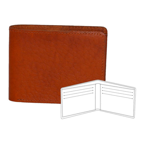 Horween leather wallet