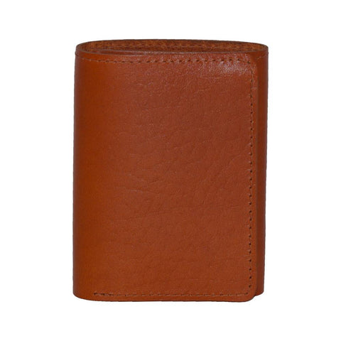 Tan Bison Leather Wallet