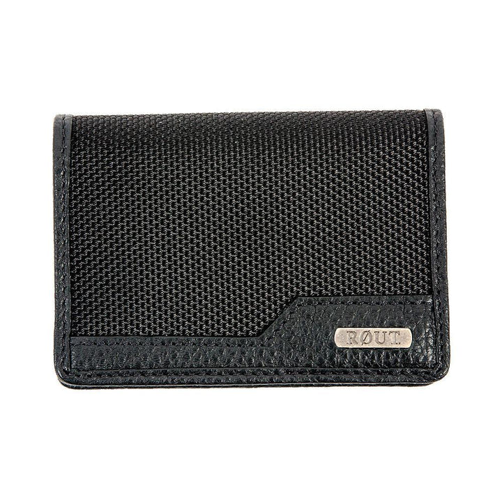 Black Ballistic nylon wallet