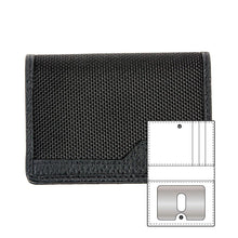 Load image into Gallery viewer, Black nylon wallet