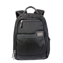 Load image into Gallery viewer, Black Business laptop backpack