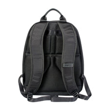 Load image into Gallery viewer, Black backpack with padded shoulder straps