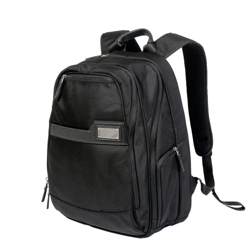 Business backpack with side pockets