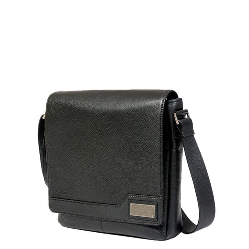 Competitor Leather Vertical Messenger