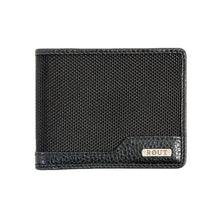 Load image into Gallery viewer, rout Black Slim Billfold Wallet