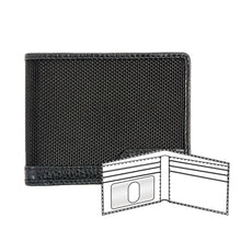 Load image into Gallery viewer, Ballistic nylon wallet with leather trim
