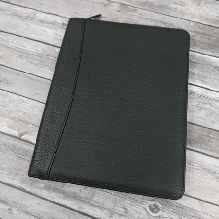 Entrepreneur Milled Zip Around Writing Pad