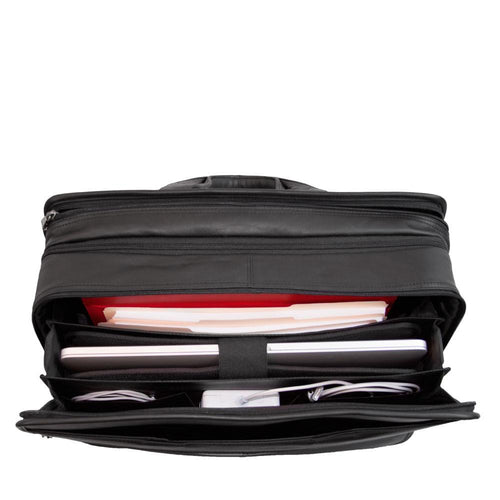 Briefcase document holder