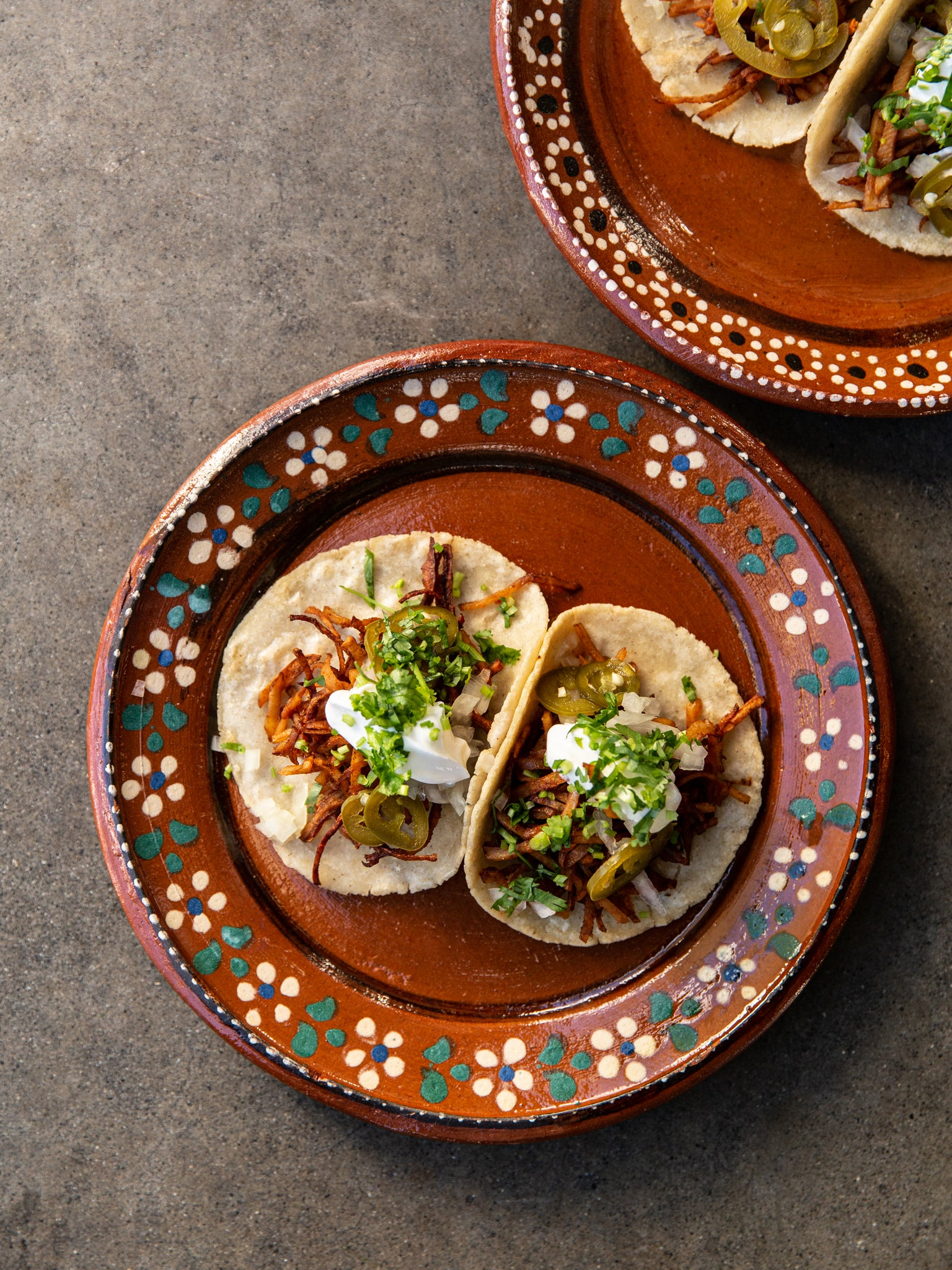 Heat at Home Roast Celeriac Taco Set (Taco)