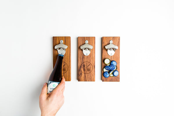 Magnetic Cap Catcher (Bottle Opener)