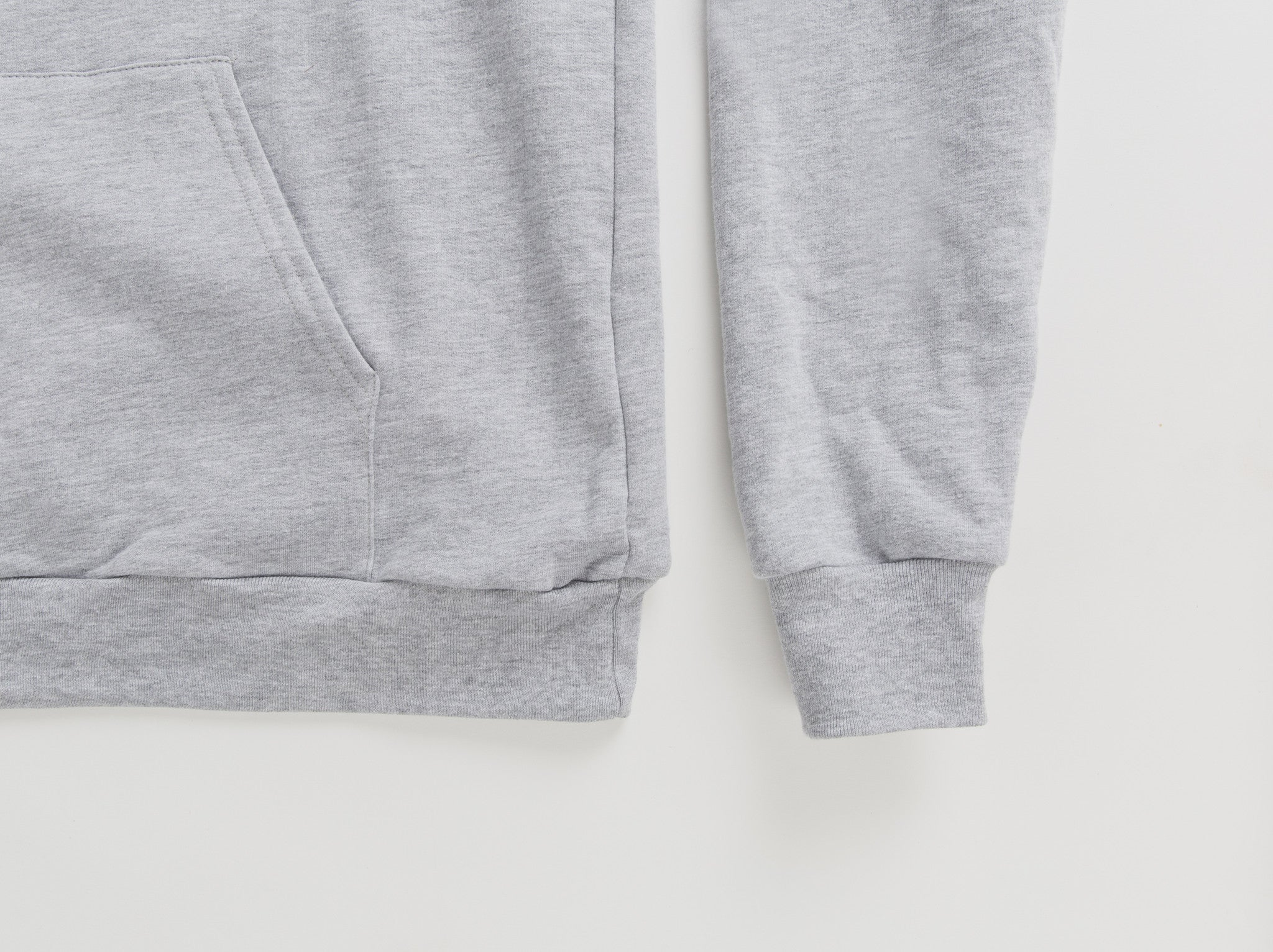 Heather Grey Hoodie (circle logo)