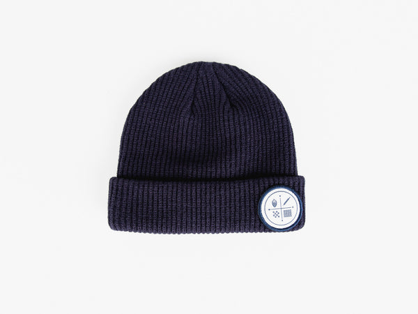 Navy Toque (circle logo)