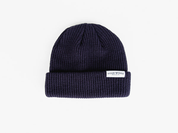 Navy Toque (text logo)