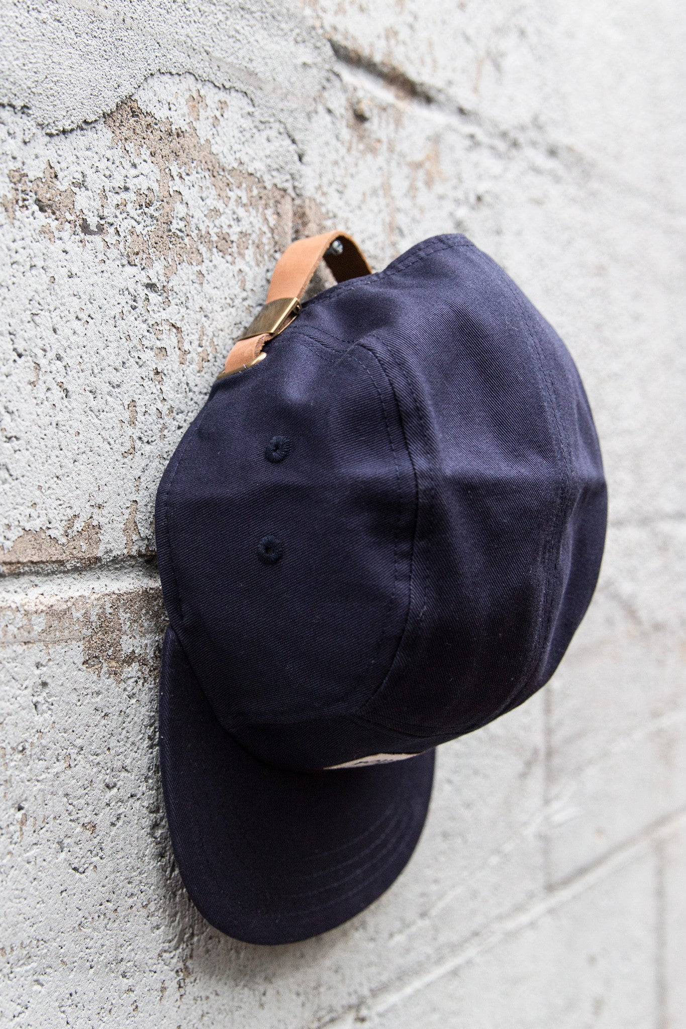 Navy 5 panel (text logo)