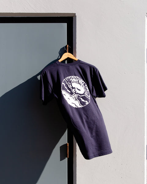 Navy Tee (Wind god logo)