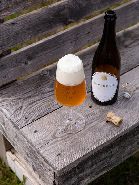 Sovereign Super Saison 750ML 8.5% (province Wide Delivery)