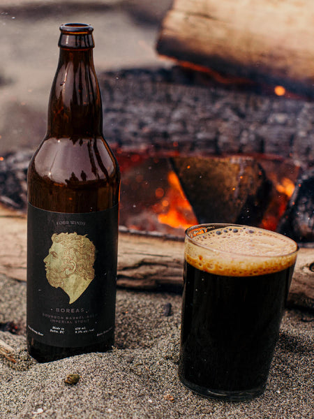 BOREAS Bourbon Barrel-Aged Imperial Stout 9.5% 650ML (Local)