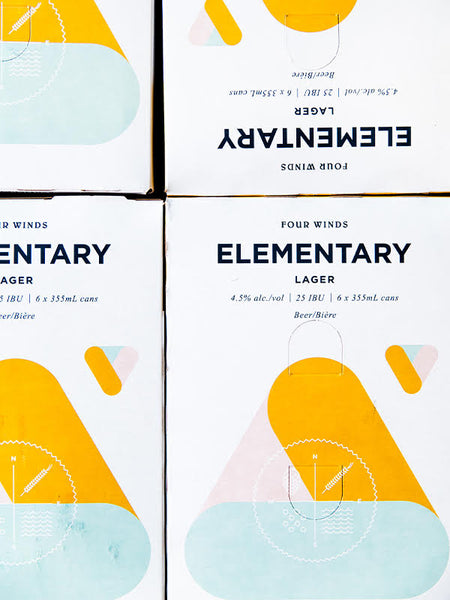 Elementary 355 ML 6-Pack 4.5% (Local)