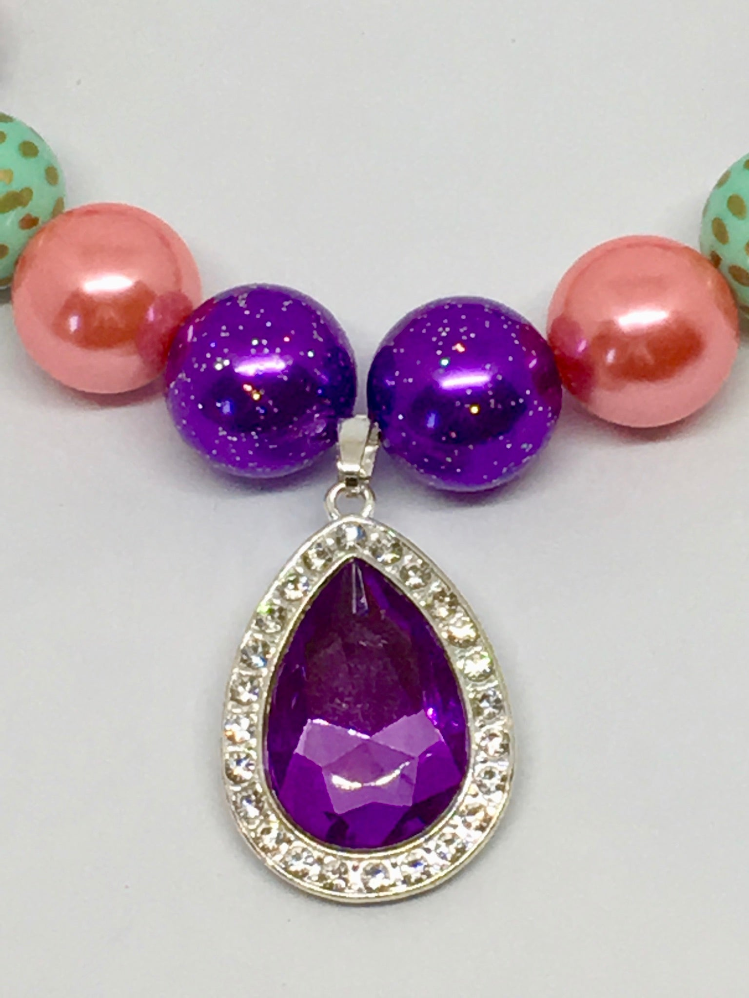 Beautiful Violet Amulet