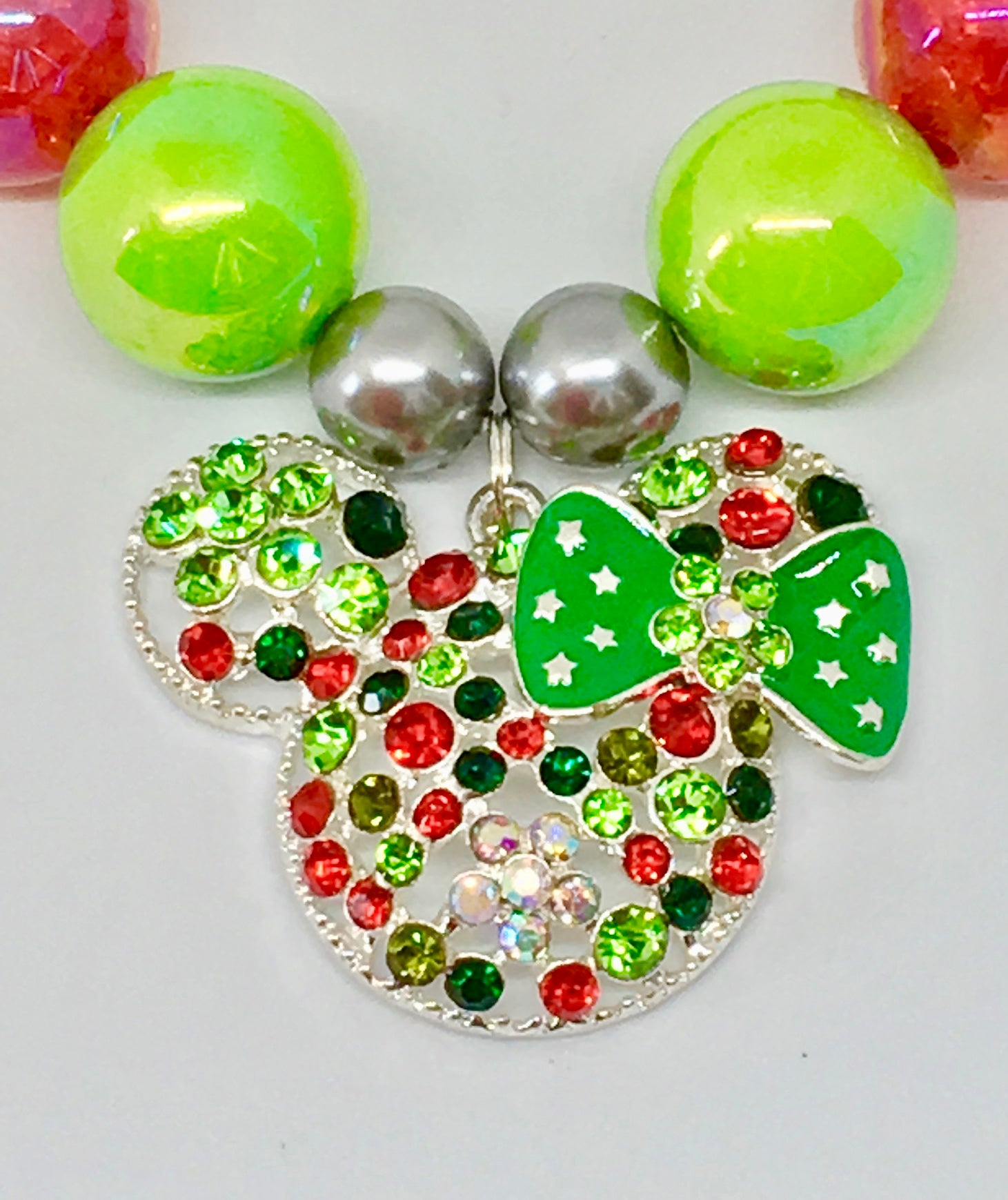 Disneys' Mickey Mouse green