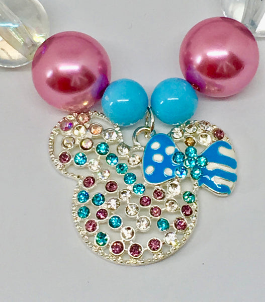 Disneys'Mickey Mouse blue and red