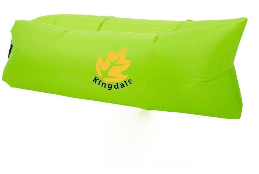 Outdoor Inflatable Air Sleeping Bag, Nylon Fabric Beach Lounger Convenient Compression Air Bag