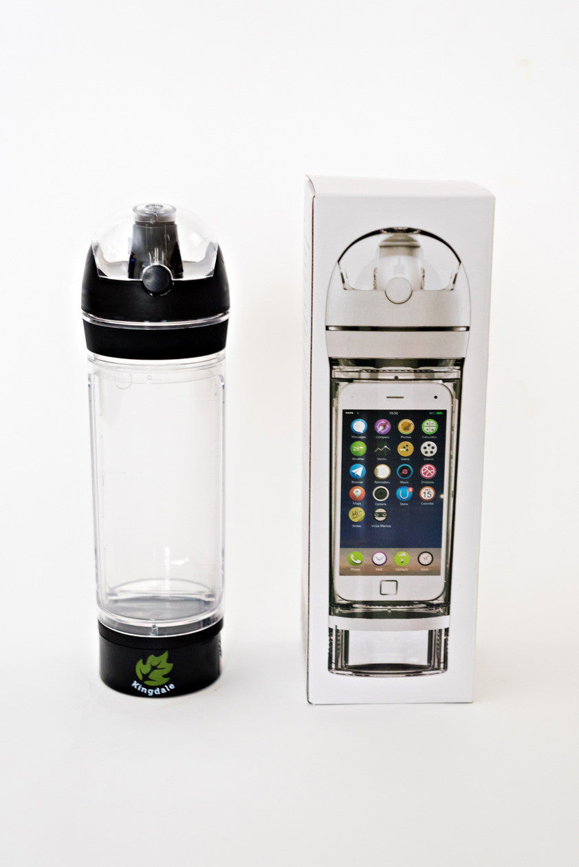 The iBottle by Kingdale-  Water Bottle That Safely Stores Your iPhone 6