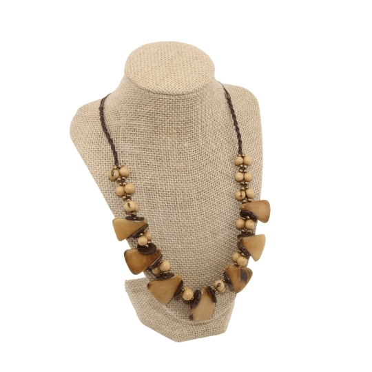 Brown Boho Necklace for Women