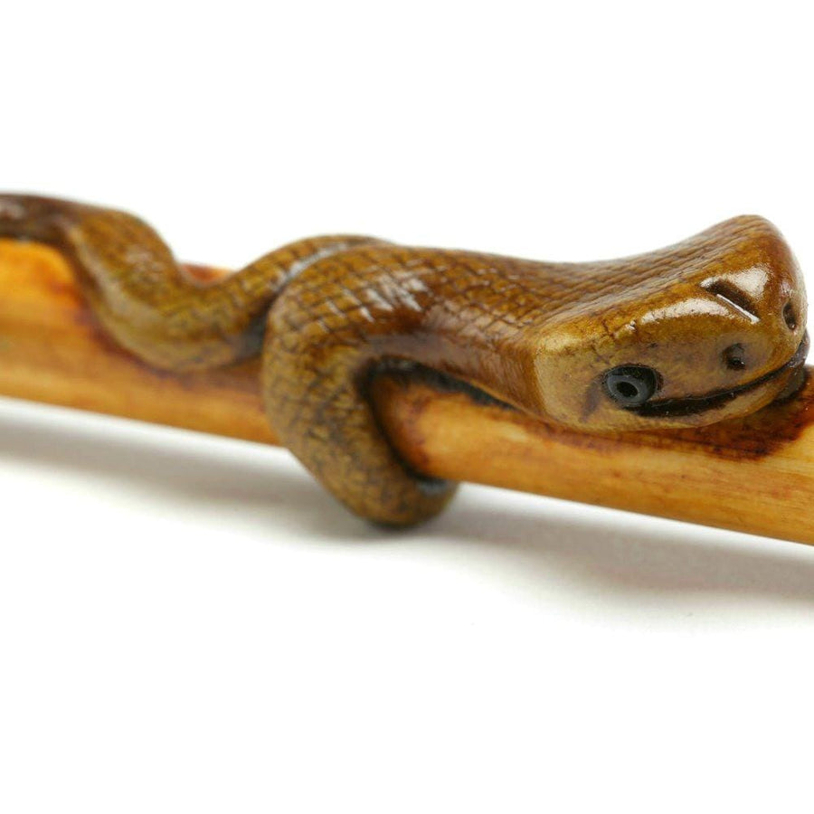 Bamboo Snake Smoking Pipe
