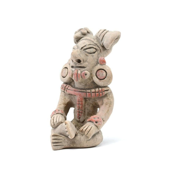 Andean Shaman Sculpture (Pre-Columbian Replica)